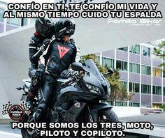 Imagenes De Motociclistas Enamorados Frases De Motocicletas