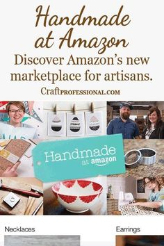 Handmade at Amazon - Learn about Amazon's new opportunity for craft business owners