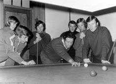 As we head into summer, the latest feature in our Golden Years series features special snaps of the times when famous footballers have turned their hand to other sporting pursuits. Bob Paisley, Kenny Dalglish, Celtic Fc, European Cup, Glasgow, Victorious, Football, Lisbon, Sports