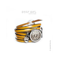 Star Girl Classic Bocian - bransoletka zegarek w Ewa Saj na DaWanda.com