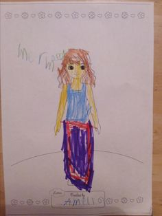 Lottie Outfit Design Competition - Amelia, age 5, has designed a Mermaid Lottie. This is great! We love it. Thanks for sharing! :)