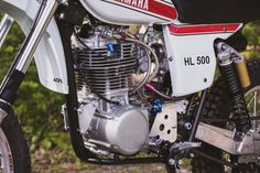A Short History of the Yamaha The Yamaha was an incredibly important motorcycle for the Japanese marque, made all the more remarkable by the Mx Bikes, Dirt Bikes, Electronics Mini Projects, Sr 500, Scrambler, Atv, Cars And Motorcycles, Yamaha, Husky