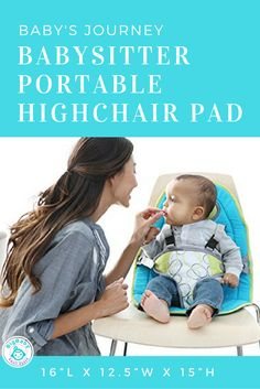 High Chairs For Small Babies Folding Exercise Chair 42 Best Booster Seats Big Baby Space Images Restaurants Grandma S House And Play Dates Don T Go Anywhere Without Your Journey Babysitter Portable Highchair Pad
