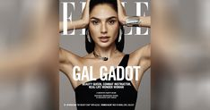 Makeup for the incredible #GalGadot on the December cover of Elle by the talented Georgie Sandev using #MarcJacobsBeauty exclusively. #Entry