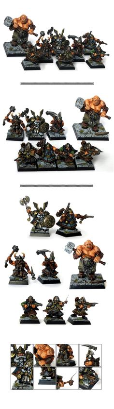 Mordheim Dwarfs Treasure Hunters warband gang