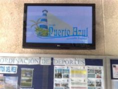 Social Clubs like Puerto Azul in Venezuela use Digital Signage Eboards to inform members in real time