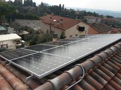 Impianto fotovoltaico ad OSIMO da 3,00 kWp su copertura - 12 moduli LUXOR in SILICIO CRISTALLINO da 250 Wp