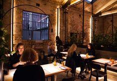 Transformer Fitzroy Bar and Restaurant Opens - Broadsheet Cafe Restaurant, Restaurant Design, Restaurant Interiors, Best Vegetarian Restaurants, Vegetarian Food, Transformers, Press Cafe, Brunswick Street, Rose Street