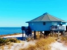 Beach House►Peace Quiet and Privacy►2.5 Miles of Empty Pristine Beach►Vacation Rental in Ocracoke from @homeaway! #vacation #rental #travel #homeaway