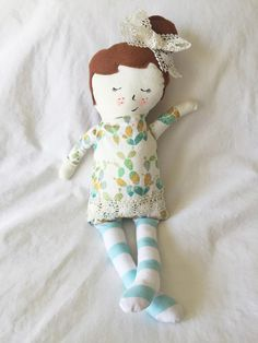 """Pepperell Mill Doll """"Mamie"""""""