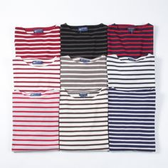 st james boat neck tops. one of each please!