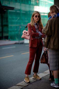 Stunning in velvet red | For more style inspiration visit 40plusstyle.com