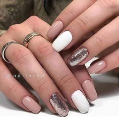100 Hottest Acrylic Square Nails Design For Short Nails Coffin - Page 66 of 101 - Latest Fashion Trends For Woman Square Nail Designs, Short Nail Designs, Best Nail Art Designs, Dream Nails, Cute Acrylic Nails, Glitter Nails, Stylish Nails, Square Nails, Nagel Gel
