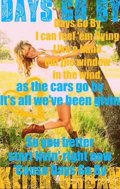 Country Music Lyrics #Keith Urban. This song was my club week song!! Gotta love 4-H!