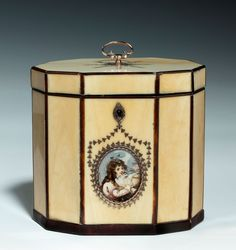 Ivory Tea Caddy, 1800