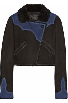 Isabel MarantFlavie cropped shearling jacket