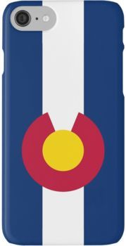 Smartphone Case - State Flag of Colorado  - Vertical iPhone 7 Cases