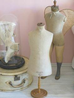 Büste Vintage Schneiderbüste Shabby Chic Schneiderpuppe Mannequin Torso
