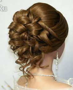 s - beautiful hair styles for wedding Wedding Hairstyles For Women, Elegant Hairstyles, Up Hairstyles, Pretty Hairstyles, Wedding Hair And Makeup, Hair Makeup, Mother Of The Bride Hair, Hair Upstyles, Hair Due