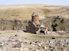 """""""City of 1001 Churches"""". At its height, Ani had a population of 100,000 to 200,000 people. It remained the chief city of Armenia until Mongol raids in the 13th century, a devastating earthquake in 1319, and shifting trade routes sent it into an irreversible decline. Eventually the city was abandoned and largely forgotten for centuries. The ruins are now located in Turkey."""