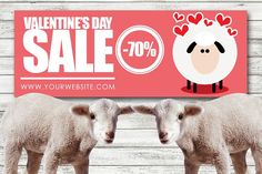 Valentines Day Facebook Cover by Flotas Media Market on @creativemarket