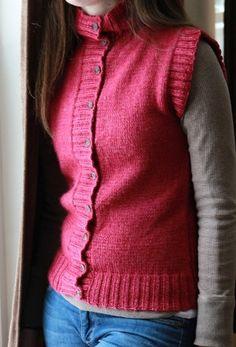 Autumn Sweater Vest   AllFreeKnitting.com