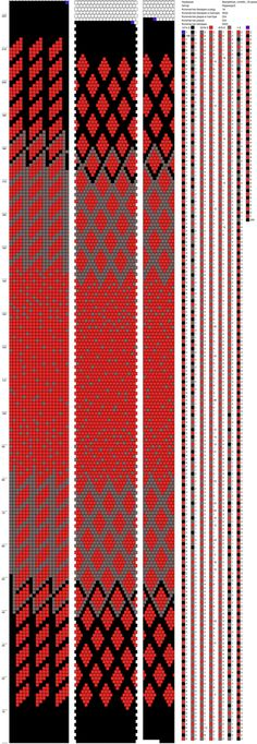 Around bead crochet rope pattern Spiral Crochet, Bead Crochet Rope, Crochet Bracelet, Bead Crochet Patterns, Seed Bead Patterns, Beading Patterns, Tapestry Crochet, Beading Tutorials, Loom Beading