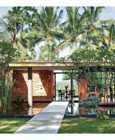 transparent house in Bali by architect Yew Kuan Cheong for Interiors magazine.