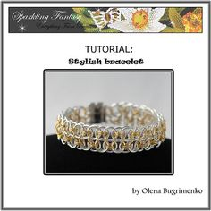 TUTORIAL Stylish bracelet by SoMeJewelryShop on Etsy, $4.90