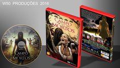 Campo Dos Mortos - DVD 3 - ➨ Vitrine - Galeria De Capas - MundoNet | Capas & Labels Customizados