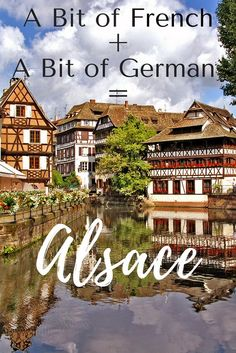 Alsace, a sub-region of France, is the perfect combination of French and German making it a wonderful destination. Have you been? Do you want to go? Check out this post and I'm guessing you'll be ready to pack your bags!! #travel #alsace #france #francetravel #europetravel #culturaltravel #authentictravel #wanderyourway #budgettravel