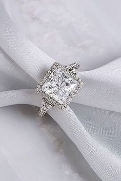18 Dazzling Diamond Engagement Rings Of Her Dreams ❤ See more: http://www.weddingforward.com/diamond-engagement-rings/ #wedding #engagement #rings