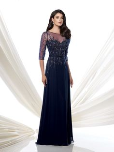 montage-by-mon-cheri-115971-navy-blue-mob-mother-of-bride-illusion-half-sleeves-v-back-sheer-decolletage