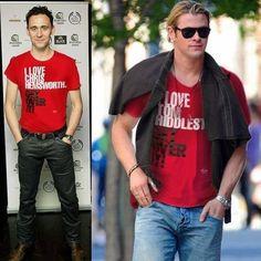 nice shirts.