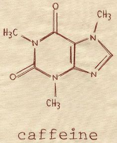 This would be great to stitch on a gift for a Starbucks-addicted math or science teacher. Caffeine Molecule design (UT3492) from UrbanThreads.com: