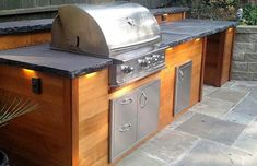 Get started on the Napa Valley outdoor kitchen of your dreams by getting inspired by the gallery of images of our customers' beautiful outdoor kitchens from BBQ Guys. Kitchen Design Gallery, Rustic Kitchen Design, Kitchen Designs, Kitchen Ideas, Patio Kitchen, Outdoor Kitchen Design, Kitchen Box, Napa Valley, Outdoor Island