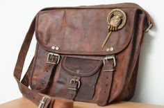 Game of Thrones: Hand of the King Leather Satchel.