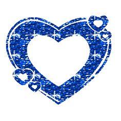 Gif animado de Amor con corazones de purpurina.
