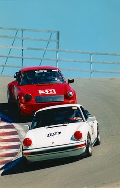 1988 Club Sport at Laguna Seca corkscrew, 2002