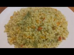 Couscous cu morcovi si ardei si ulei de masline. - YouTube Couscous, Fried Rice, Fries, Ethnic Recipes, Youtube, Nasi Goreng, Youtubers, Stir Fry Rice, Youtube Movies