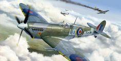 Spitfire Mk.IXc (Eduard box art)