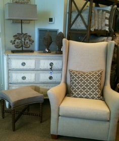 Tall Chairs to curl up in! @ OP Jenkins Furniture and Design
