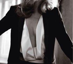 blazer & silk.