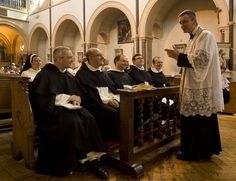An Oratorian and Dominicans by Lawrence OP on Flickr.