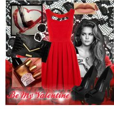 """""""Red"""" by makenzieambrose on Polyvore"""