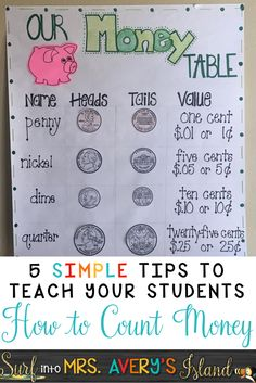 Teaching your students how to count money does not have to be difficult!  Take advantage of this HUGE bundle of 4 money resources all packed into one, and have your students mastering the math standard of counting coins in no time!  These activities are perfect for your whole group lessons, RTI, partner activities, math centers, morning work, Kagan Structures, and SO MUCH MORE!  Your kids are going to LOVE these money games and activities!