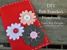Make a Traveler's Notebook from Felt