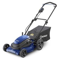 Kobalt 13 Amp Lawn Mowers At Walmart