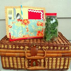 Another Picnic Rollup ready for a weekend outing, or an al fresco work lunch!