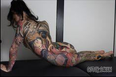 Gakkin tattoo artist's work